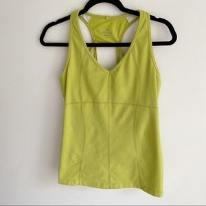 Athleta Lime Green Tank M